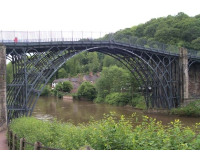 Modern day Ironbridge